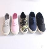 カムフラージュの上部デザインの高品質の方法女性ズック靴