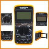 Dt9205A LCDデジタルボルトメータの電流計のオームの試験計器のマルティメーター