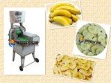 Máquina de cortar cortador de fatias de banana elétrica industrial elétrica