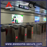 バスまたは地下鉄または駅のためのRFIDのカード読取り装置の三脚の回転木戸
