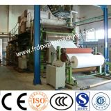 2400 мм целлюлозы и бумаги отходов переработки бумаги рулон Jumbo туалет ткани рулона бумаги бумагоделательной машины