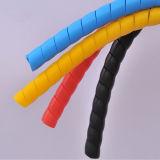 Flexibler gewundener Schlauch-Plastikschutz für Aufbau-Maschinen
