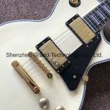 Guitare électrique de Lp de coutume dans la couleur crème avec 2 camionnettes de livraison (GLP-535)