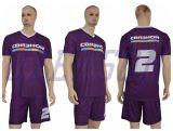 Voll über Sublimation-Drucken-Sportkleidung-Fußball-Hemd
