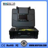 Sistema de CCTV Sonde bajo el agua de la Cámara de inspección de alcantarillado con 512 Hz transmisor