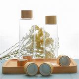 Nouveau design pots Cosmétiques de bambou, pot de crème de bambou