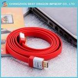 3D de 4K Cable HDMI 1.5M 3m 10m 15m 20m 18Gbps chapado en oro.