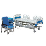 Bed van het Ziekenhuis van het Bed van het Meubilair ICU van het Ziekenhuis van vijf Functie het Elektrische (BS-858)