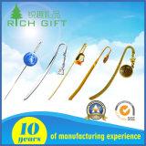 Напечатанные логосом Bookmarks металла нестандартной конструкции для подарков дела