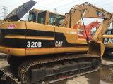 Máquinas escavadoras hidráulicas usadas da máquina escavadora 320b Cralwer da lagarta