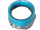 concasseur à cônes de porter une partie du manteau de contre-batteur, tête courte bol standard de la chemise
