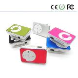 Le métal Q touche Type de lecteur MP3 Clip bouton Shell en aluminium