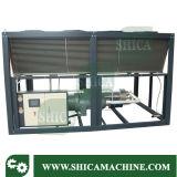 Tipo refrigerador do parafuso de água da planta do refrigerador de água para a máquina refrigerando