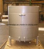 広いレーザーによって溶接される版の熱伝達タンク