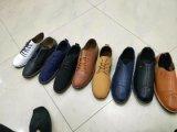 PU couro Calçado para homens e mulheres, sapatos para homens PU calçados, 3000pares, apenas USD1.82/pares