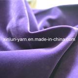 Flocado impermeable lisos de poliéster tejido Sofá tapizado/cortina