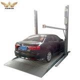 二重デッキ車の駐車か自由で永続的な二重コラムの駐車上昇