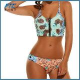 Frucht-Druckbeachwear-preiswerter Form-Bikini für Dame Swimsuit