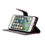 Cassa del telefono mobile della fessura per carta di colore solido della banda del coccodrillo