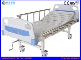 To China Medical manual single Crank ABS Headboard/Footboard hospital only-sing Bed