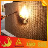 Placa externa à prova de fogo de lãs de rocha da isolação térmica da parede (edifício)