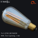 Bulbo Fishtail del filamento de la dimensión de una variable LED de St64 E26 con Ce de la UL