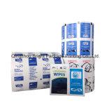 2015 горячая продажа ламинированных печатной бумаги из алюминиевой фольги для изопропиловый спирт Prep блока