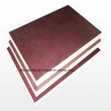El mejor precio comercial de madera contrachapada de color negro/marrón de materiales de construcción