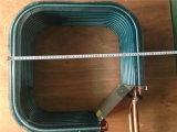 Agua a alta presión para aire Intercambiador de calor de cobre de la bobina