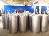 El tanque de almacenaje de alta presión partido de la agua caliente de la vertical