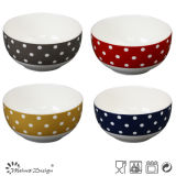New Bone China Ceramic Bowl