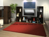 Simply Black Wooden Wide Bookcase and TV Stand (TVS12)