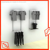 Vestuário de aço inoxidável Racks de exibição