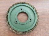 Ilsung Stenterの機械装置(YY-635)のためのCuspidal剛毛の車輪のブラシ