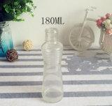 Schmieröltankanlage-Glasflasche mit Überwurfmutter