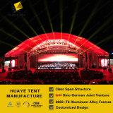 كبيرة مضلّعة ألومنيوم خيمة [هلّ] مع [بو] [سندويش بنل] جدر لأنّ لون موسيقى حفل موسيقيّ ([ب1] [هبغ])
