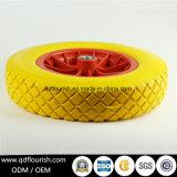 Durable Spoke Wheels Tubeless PU Foam Wheel 14X3.50-8