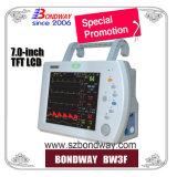 Pni, ECG, PNI, temperatura, pulso, Monitor de signos vitales con la opción de IBP, lateral del ETCO2 o incorporar ETCO2