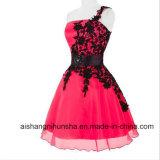 プロムのフォーマルな制服のピンクのプロムのパーティー向きのドレス