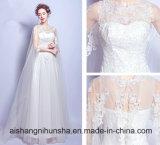 Goldsequin-Abschlussball-Kleid-lange elegante Hochzeits-Kleider