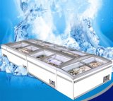 Porta de vidro corrediço arca congeladora comercial