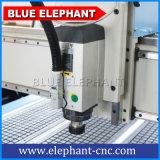 O CNC 1325 4X8FT 3D Madeira Gravura de trabalho da máquina com eixo giratório do eixo 4 do Total