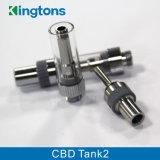 Tank 2 van de Verkoop van de Fabriek Ecig van Kingtons Nieuwe de Verstuiver van de Olie Cbd