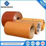 Couleur aluminium 3003/3004 couché en alliage métallique de la bobine avec PVDF pour toiture de peinture