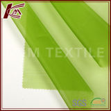 100 tecido organza de seda pura seda tecido de couro fino tecido de vestuário de malha