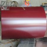 PPGI RAL 8004 galvanisé prélaqué bobine en acier recouvert de couleur
