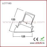 Утоплено установите потолок Downlight LC7718d УДАРА СИД 12W Dimmable