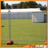 Panneaux de clôture de sécurité temporaire galvanisé