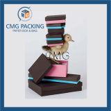 Коробка подарка картона бумажная (CMG-PGB-031)