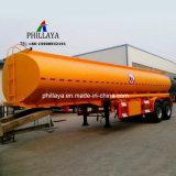 Eje 2 3 4 20000litros 50000litros de combustible del cuerpo camión cisterna semi remolque del depósito de aceite